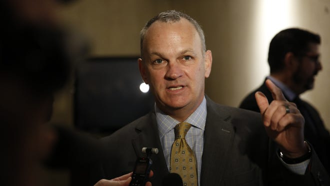 Former Florida House Speaker Richard Corcoran, shown in this file photo, is poised to become the state's next Education Commissioner.