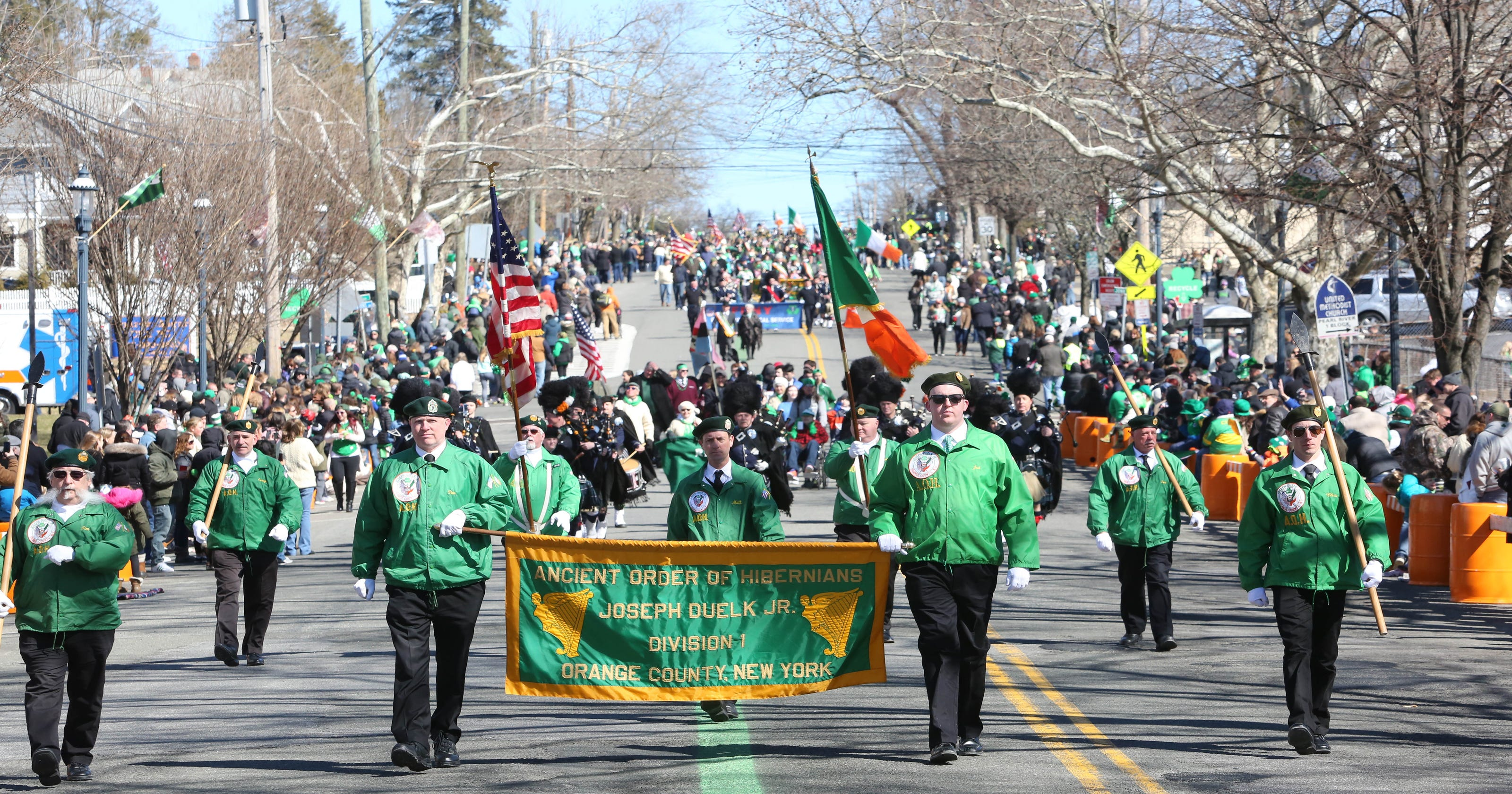 Weekend St. Patrick's Day parade forecast