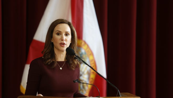 Florida State University's Vice President of Student Affairs Amy Hecht announced that the administration was partially lifting the Greek life ban at a news conference in January.