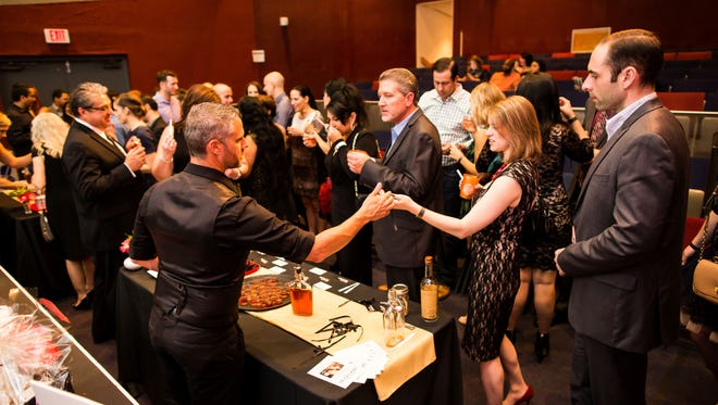 The Cocktail Society is a kick off soiree for the Scottsdale Culinary Festival.