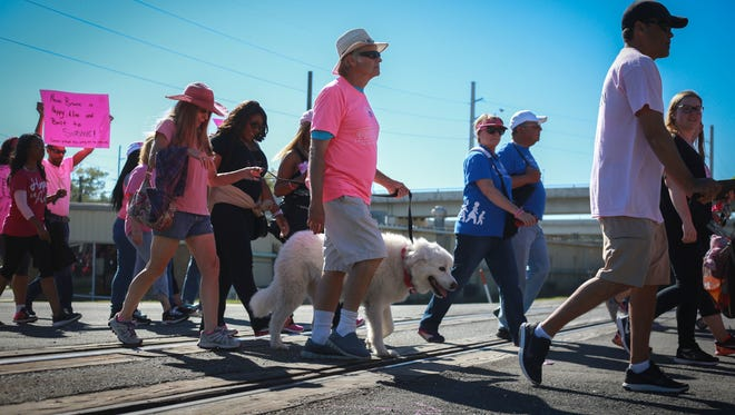 There will be a Race of Justice walk from 2 to 4 p.m. Sunday at Cascades Park,