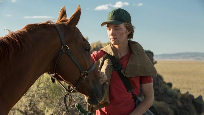 "Charlie Plummer stars in ""Lean on Pete."""