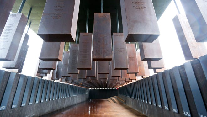 The National Memorial for Peace and Justice in Montgomery, Ala., honors thousands of people killed in racist lynchings.