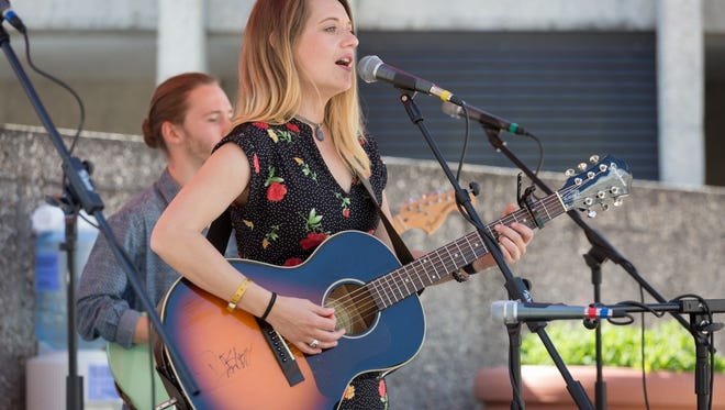 Ashley Heath and Her Heathens, which features Madison High School graduate Ashley Heath, earned top honors at MerleFest's live band competition.