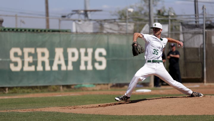 St. Bonaventure outlasts Simi Valley in battle of aces in Div. 2 first-round baseball game