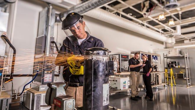 The COD Air Conditioning/HVACR program provides highly trained individuals to work in businesses throughout the Coachella Valley. The program offers a Certificate and Associate of Science degree, providing students a wide range of courses to get them job ready.