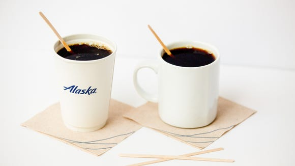 Alaska Airlines will switch from single-use plastic