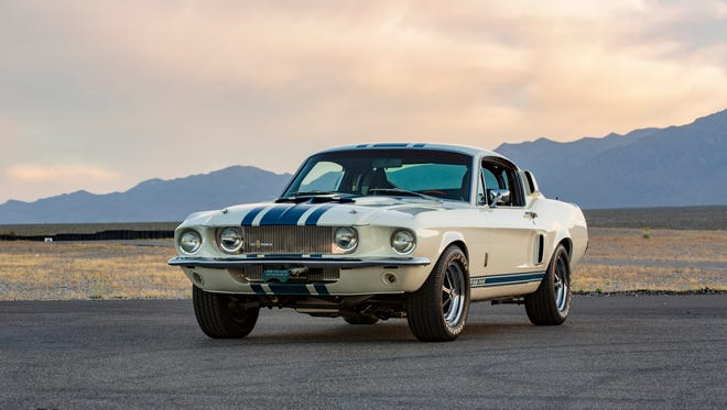 The Ford Shelby GT 500 Super Snake.