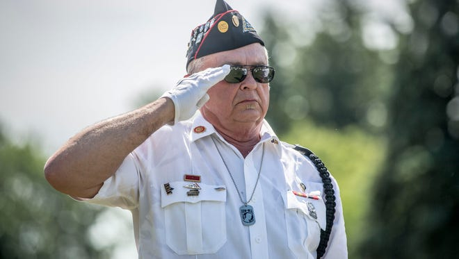 Members of the community, veterans and officials attend the 146th Memorial Day ceremony on May 28 at Beech Grove Cemetery. The event saw music from America's Hometown Band, a rifle salute from the Delaware County Honor Guard and more.