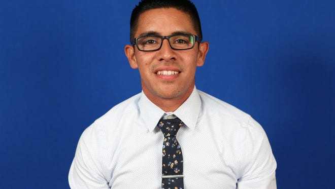 David Sanchez is the new College of the Sequoias' cross country head coach.