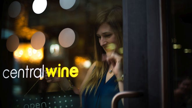 Central Wine in Phoenix, owned by Jenna Rousseau (pictured here) is now closed.