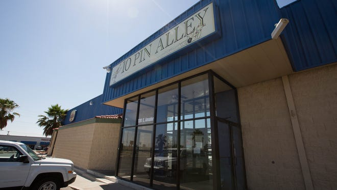 An employee told the Sun-News that 10 Pin Alley — also home to Q-Time and Jose Murphy's — would be closing its doors Saturday June 30, 2018. Shown here Wednesday June 27, 2018.