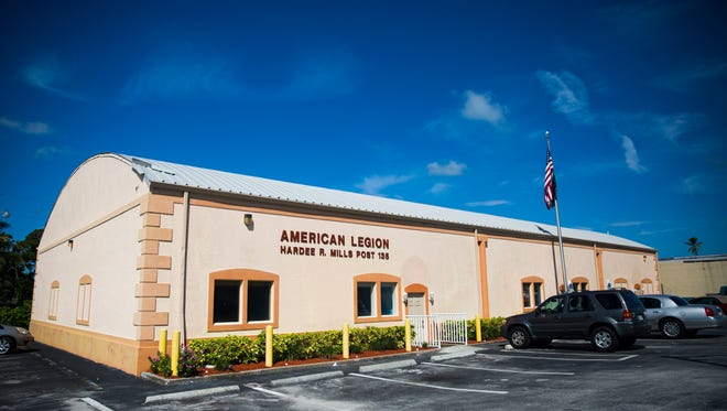 The American Legion building on Tuesday, July 3, 2018, in East Naples. After Hurricane Irma caused hundreds of thousands of dollars of damage at the Hardee R. Mills Post 135 in East Naples, the American Legion post is planning to reopen Wednesday, July 4.