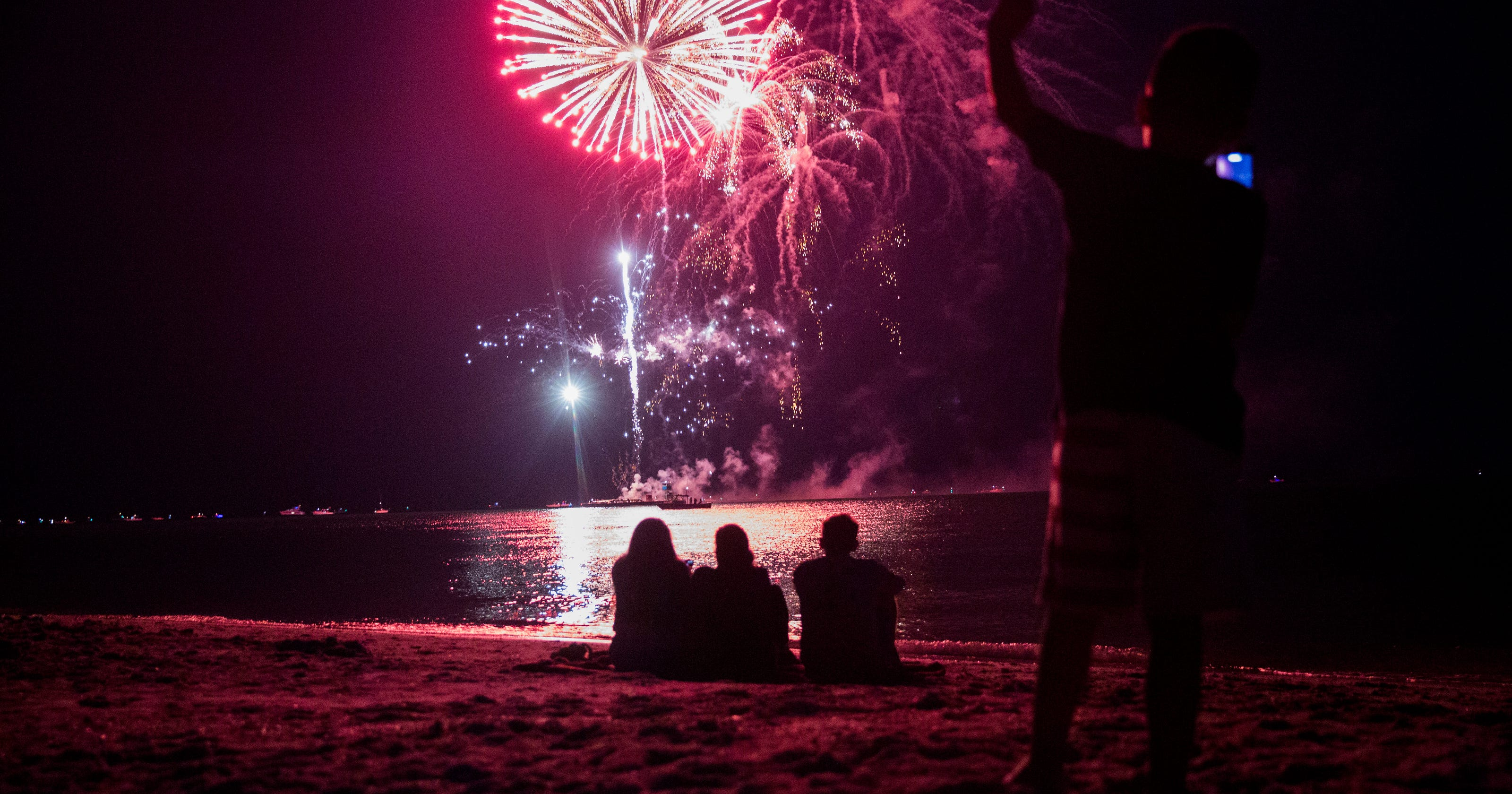 July 4th in Naples: High temperatures, thunderstorms on tap