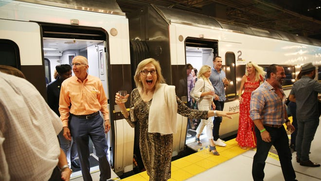On October, passengers will get to sample the acclaimed Antinori wines from Tuscany on the Brightline's Tasting Train.