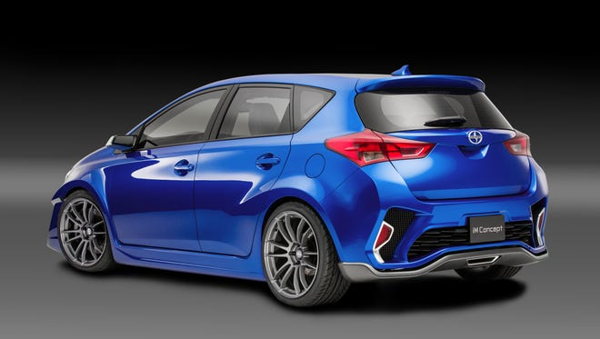 Scion is showing off the Scion iM concept ahead of the Los Angeles Auto Show.