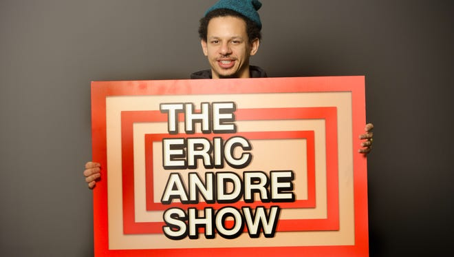 """Comedian Eric Andre hosts Adult Swim's """"The Eric Andre Show."""""""