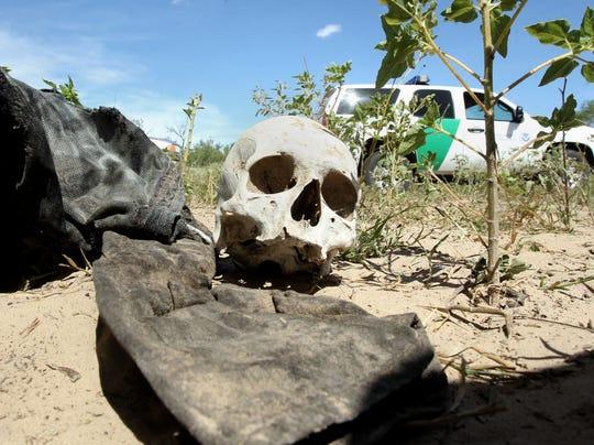 AP Immigrants-Mass Graves-Texas
