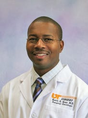 UT Medical Center Surgical Oncologist Dr. Keith Gray