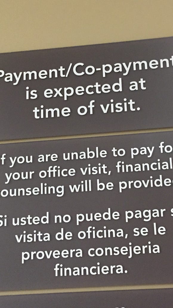 Doctors want payment at the time of service, which is fine if they'll tell customers who have high deductible plans exactly how much they owe.
