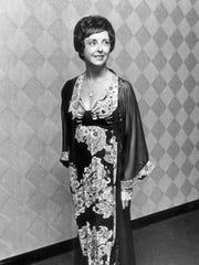 Mrs. Barbara Ward in a 1974 News Sentinel file photo.,