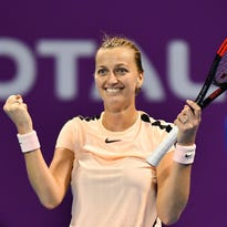 Petra Kvitova beats Caroline Wozniacki to meet Garbine Muguruza in final