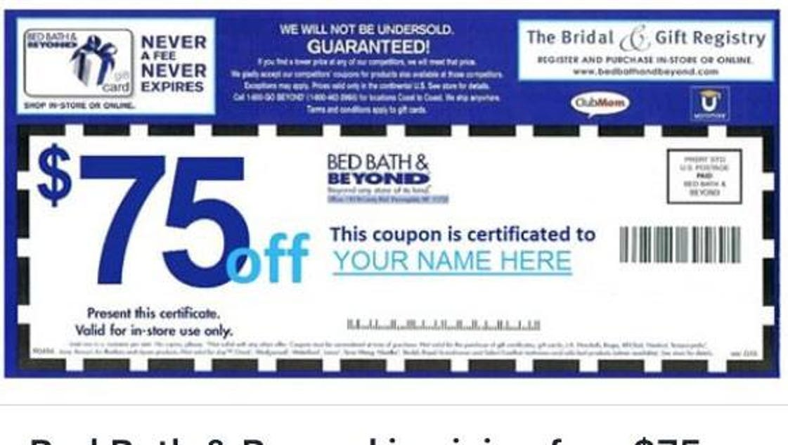 Bed Bath And Beyond How To Enter Coupon Code