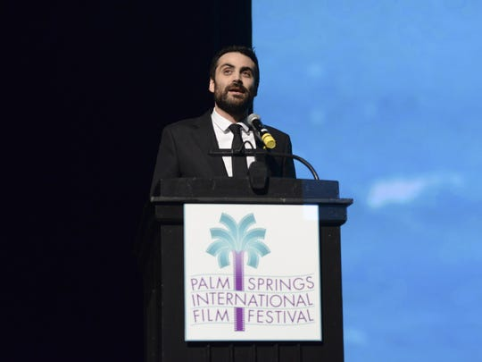 Palm Springs International Film Festival artistic director Michael Lerman led the Q&A after the Closing Night Screening.