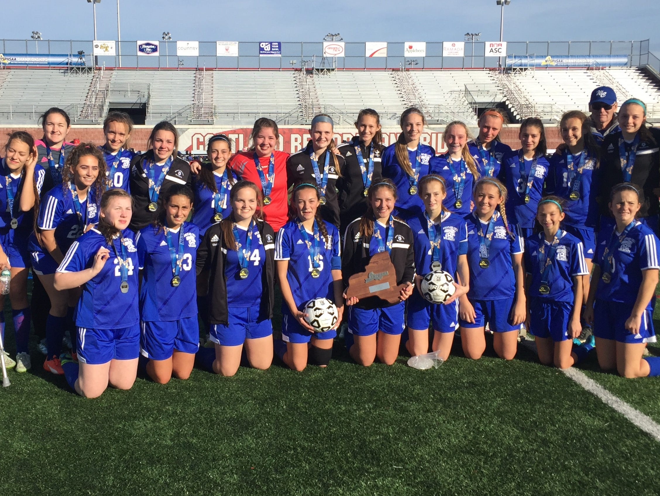 Wheatland-Chili with the runner-up trophy