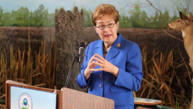 U.S. Rep. Marcy Kaptur, D-Toledo, applauded the Great Lakes Restoration Initiative, which announced Thursday the award of a total of $3,584,865 in grants funded distributed via the GLRI, or Great Lakes Restoration Initiative, on efforts to address issues facing the Great Lakes region, including several focused on Lake Erie specifically.