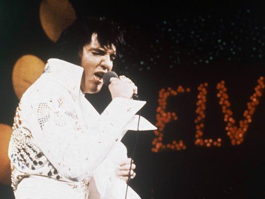 AP Elvis Presley at Stax