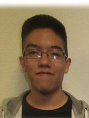 Johan Ruiz, a sophomore at Dunbar High, received first