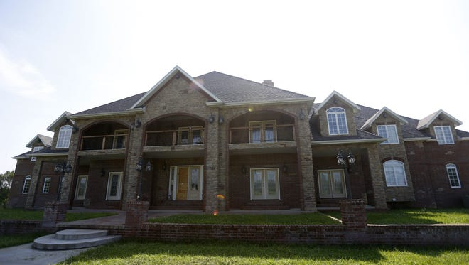 A 20,000-square-foot mansion in Bois D'Arc was searched by the Greene County Sheriff's Office in July.