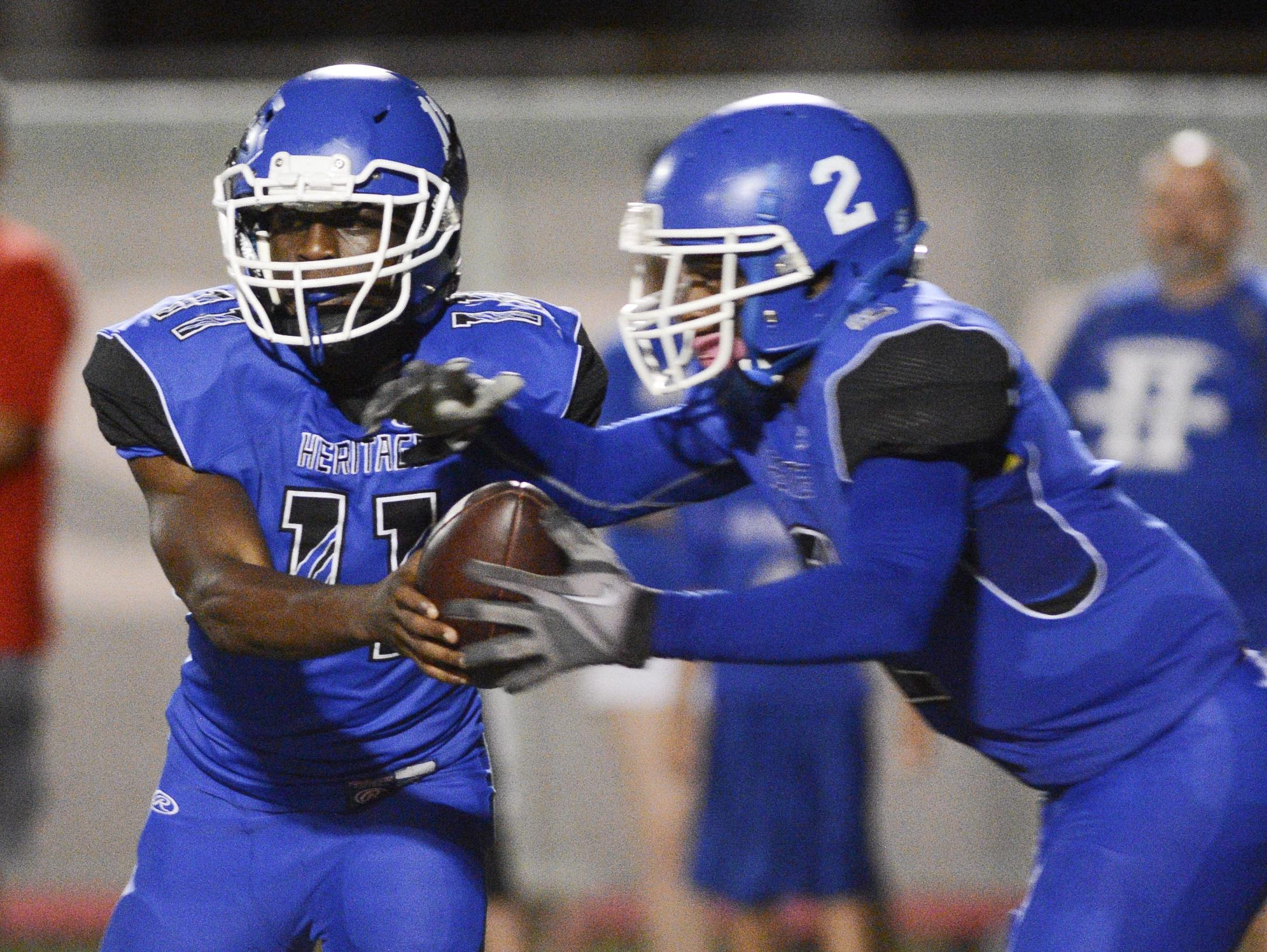 Heritage High hosted Deltona is a Class 6A regional quarterfinal on Friday night in Palm Bay.