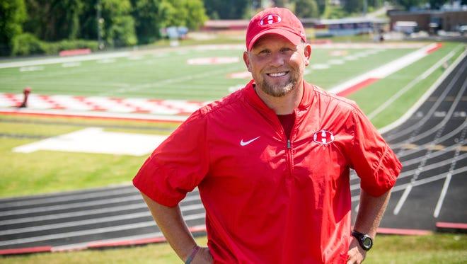 Jeremy Bosken is Halls' new football coach.