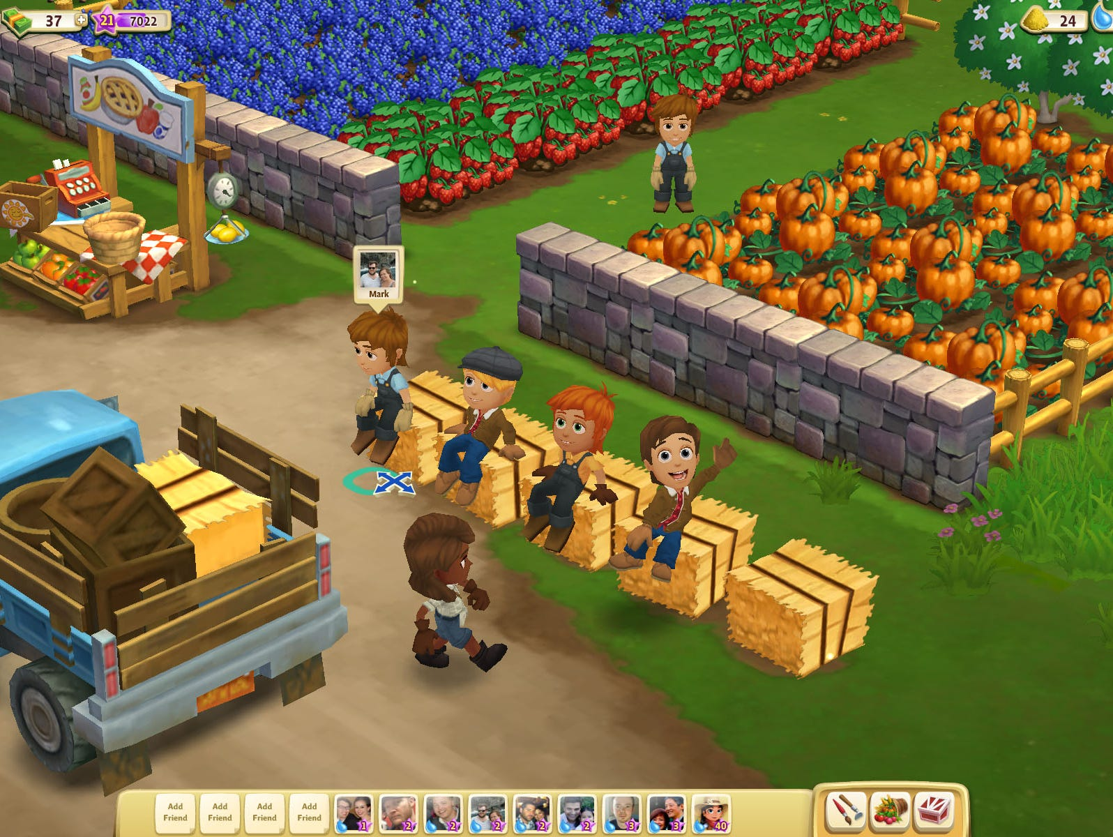 A screenshot of FarmVille 2.