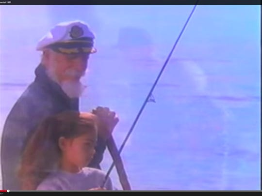 This sailor likes Sizzler in the company's 1991 commercial.