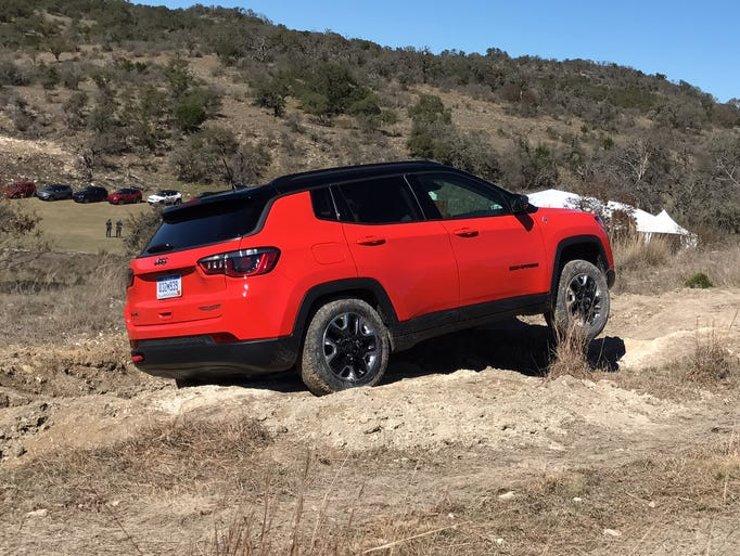 The 2017 Jeep Compass's two 4WD systems can send 100%