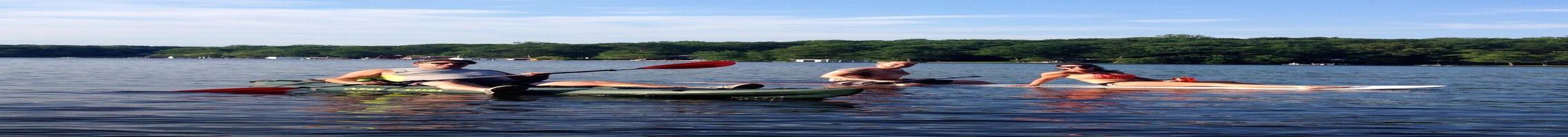 Water workouts, fitness on Lake Hopatcong