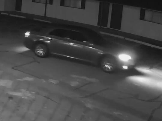 A Chrysler 300 was used in an armed robbery at the