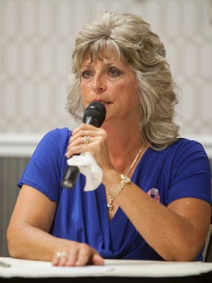 Jeanette Finicum discusses the death of her husband LaVoy Finicum and the Bundy family prosecution Thursday, July 28, 2016.
