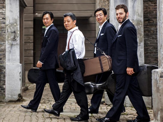 Mark your calendar for Jan. 16, when the Shanghai Quartet