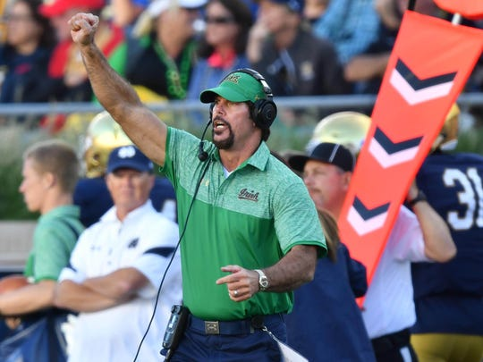 Notre Dame defensive coordinator Brian VanGorder is taking some heat after Saturday's game.