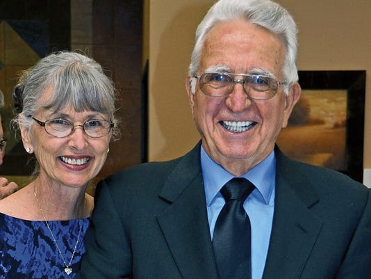 Rita and Norman Lackey have been married for 50 years.