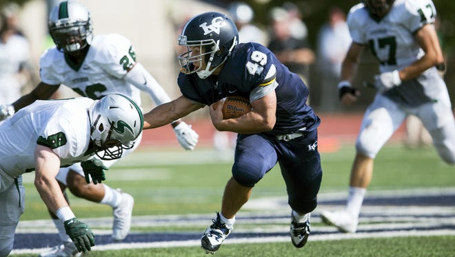 Lebanon Valley senior running back Brendon Irving is seeking his third straight 1,000-yard rushing season in 2016.