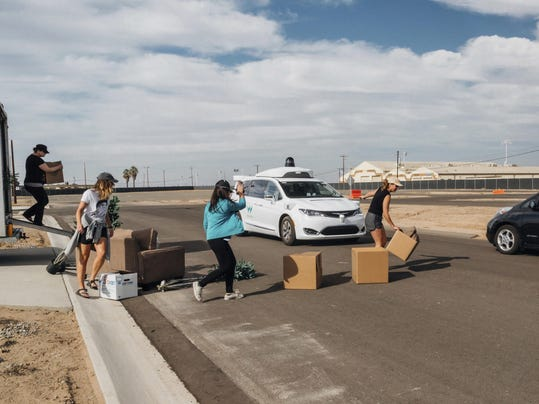 Waymo Self Driving Car Safety