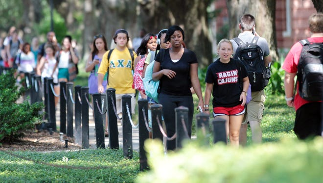 Fall enrollment at UL is highest in the school's history.