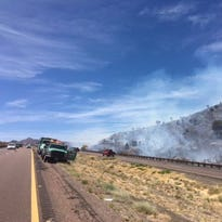 Brush fire closes SR 87 in both directions, I-17 traffic affected by 2nd fire