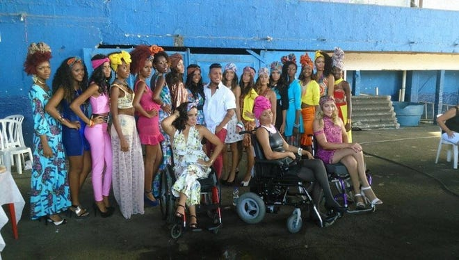 'Vestindo Inclusao' is a clothing line by a Rio de Janeiro designer that caters specially to women with disabilities.