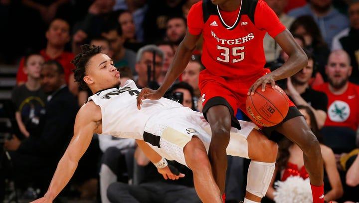 Purdue men's basketball pregame vs. Rutgers